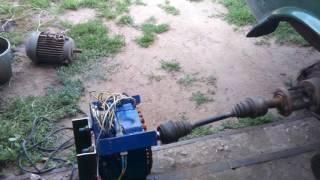 видео Генератор 5 кВт (дизель): технические характеристики