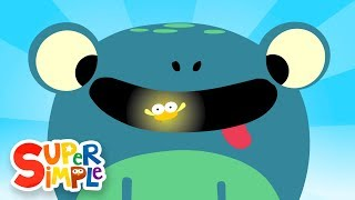 Five Little Speckled Frogs | Kids Songs | Super Simple Songs