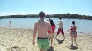 Lac Monampteuil 24 juillet GOPRO