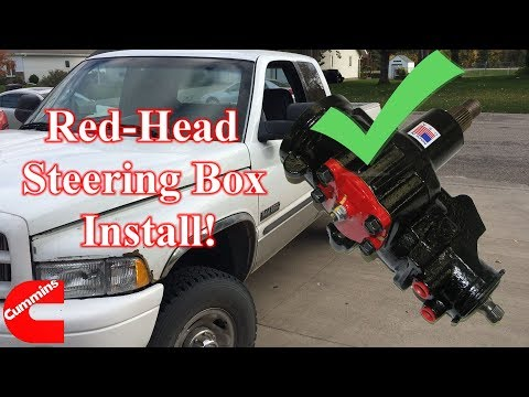 '94-'02 Dodge Ram Power Steering Gear Box Replacement - Step by Step!