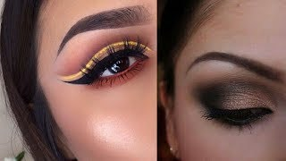 Easy eye makeup tutorial | eye makeup compilation #8