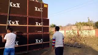 Dj XxX it's Danger sarawasti puja vishjan At Panchet new market