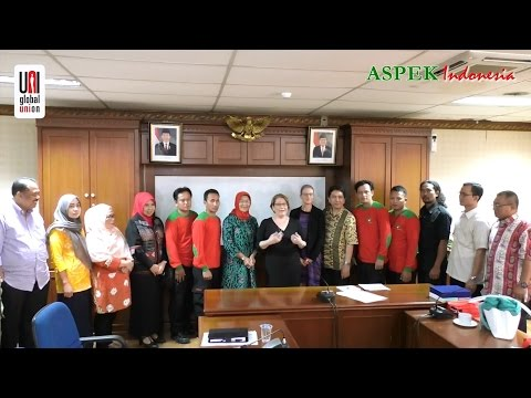 Ann Selin Visit to and Meeting with Ministry of Manpower