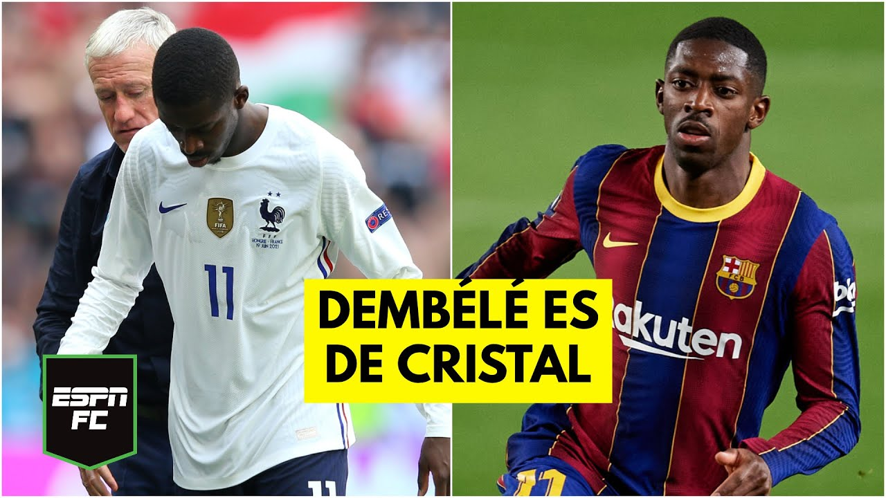 DE CRISTAL Ousmane Dembélé lesionado, de los peores fichajes en la historia del Barcelona | ESPN FC