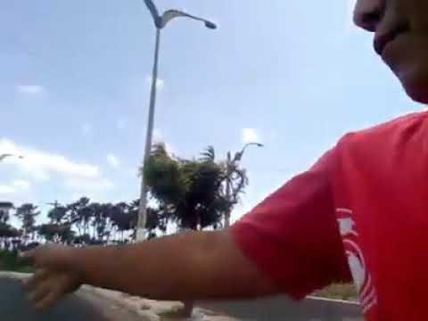 Entroncamento entre Avenida Dragão do Mar e BR 304 em Aracati, necessita de cuidados