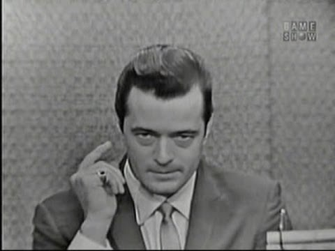 What's My Line? - Beyond the Fringe cast; Robert Goulet; Buddy Hackett [panel] (Nov 4, 1962)