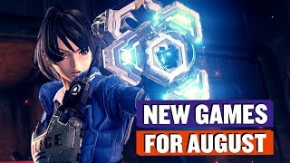 Console Games I Want in August