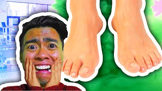PEDICURE SIMULATOR 2016 | Ashi Wash
