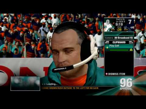 Head Coach Dynasty S1E32 - Miami Dolphins vs Denver Broncos - 2008 Week 9 - 1031ent