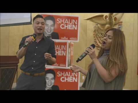 Gabriela Rodgers & Kalsen Cheung - The Prayer - MP Shaun Chen: A Decade of Service 2016