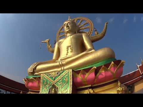 Ko Samui   Lamai Beach   Big Buddha   Thailand   Sony HDR-AS50   VLOG8
