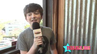 """Greyson chance on his debut album """"hold 'til the night"""""""