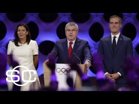 L.A. officially gets 2028 Olympics | SportsCenter | ESPN