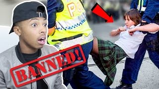 10 Kids BANNED From School For Dumb Reasons Reaction