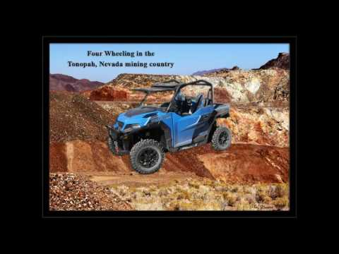 Four Wheeling in Nevada Mining Region