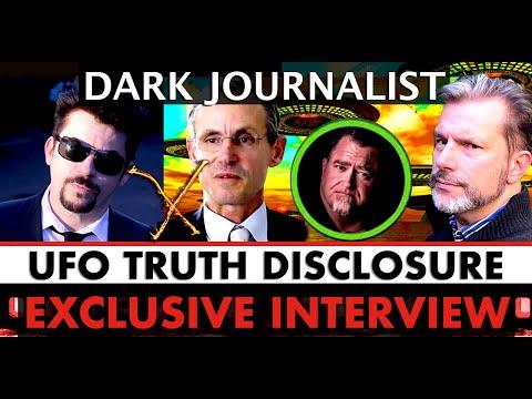 Dark Journalist: Truth UFO Disclosure & Mellon Family Secrets! Exclusive Interview John W. Warne