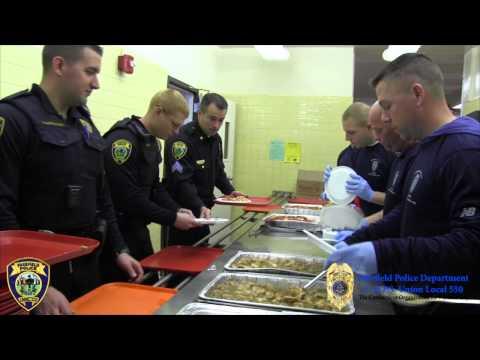 Fairfield Police Union Treats Seniors To Lunch