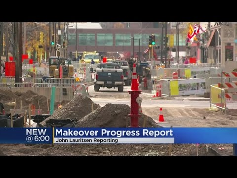 Despite Delays, Nicollet Mall Construction Still On Schedule