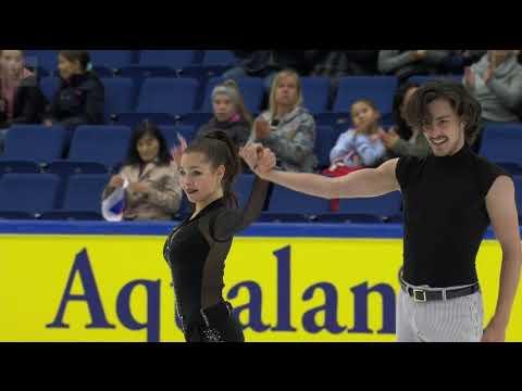 Anastasia SHPILEVAYA & Grigory SMIRNOV RUS Free Dance 2019 Finlandia Trophy YLE