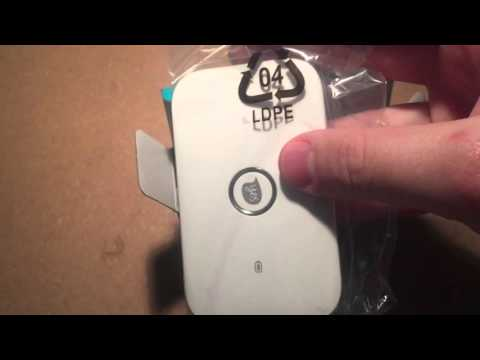 Optus Huawei E5573 4G Plus Wifi Modem Unboxing And Assembly