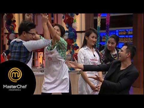Luvita dan Rizky dapet hadiah Master Chef Indonesia 22 Agustus 2015