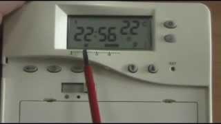 Программирование комнатного термостата lt08