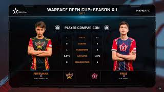 Warface open cup season XII: ARENASTARS VS YOUNGSTARS