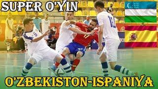 Узбекистан Испания Супер матч 19 08 2021 Подготовка к Чемпионату мира 2021