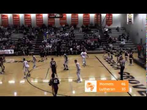 BGHS Basketball vs Lutheran 1/29/16