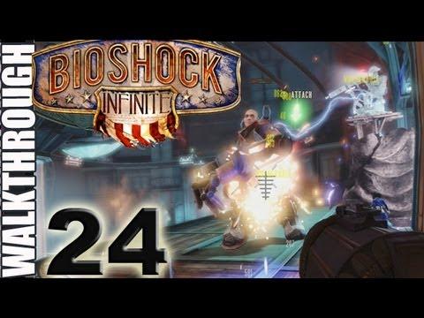 PT 24 BioShock Infinite Ride Skyline to Upper Deck Walkthrough Lets Play (HD)