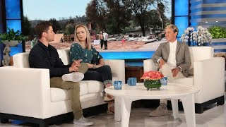 Ellen Surprises California Firefighter Who Lost His Home