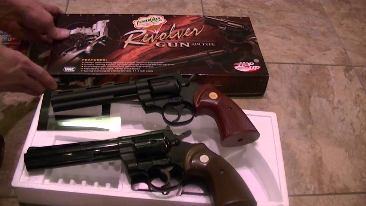 Replica Colt Pythons - Two by UHC and one by Replica Model Gun Corporation  - Vintage