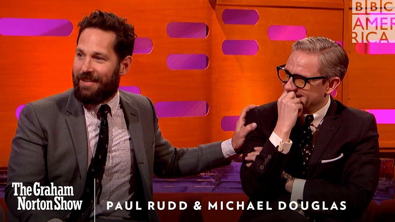 Paul Rudds Weird Michael Douglas Prank The Graham Norton Show