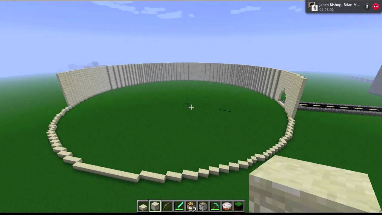 Minecraft Lapse The Colosseum YouTube