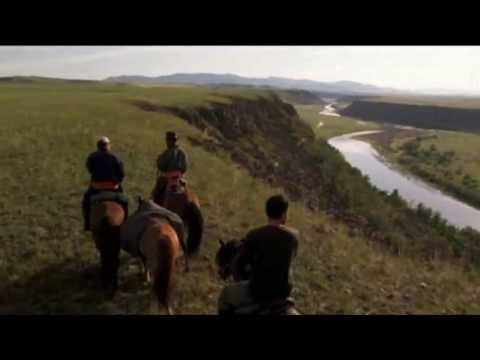 Beautiful Mongolia with Mongolian long song feat Enigma  The Eyes of Truth