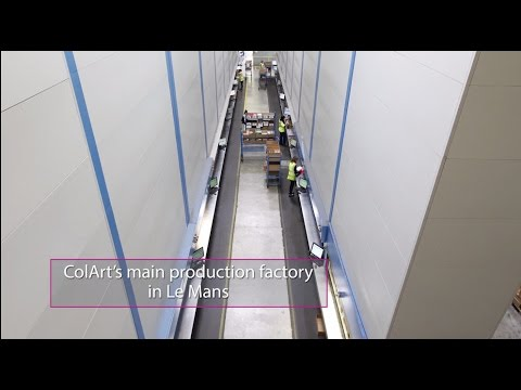 Smart Industrial Capabilities in Western France  - UK Success Story - Colart - Le Mans