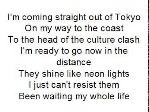 American girl by One ok Rock  lyrics