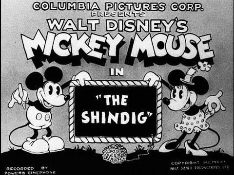 The Shindig 1930 Mickey Mouse And Minnie Mouse Youtube