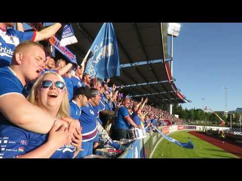 Ísland - Króatía 11.06.2017 úúhhhh klappið