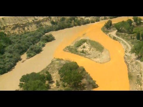 EPA Takes Blame For Colorado Mine Waste Spill