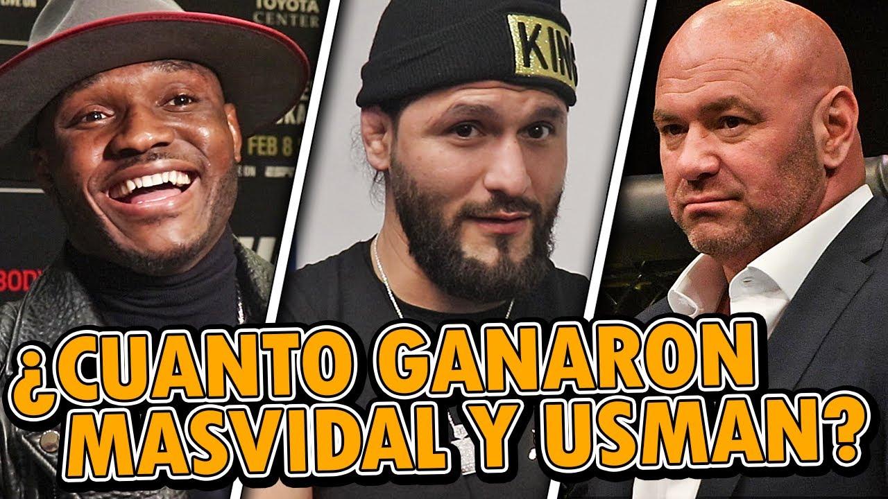 UFC 251: Salarios y Bonificaciones, Jorge Masvida, Kamaru Usman, Dana sobre Volkanovski vs Holloway