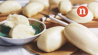 Steamed Chinese Buns   Mantao