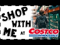 SHOP WITH ME AT COSTCO + HAUL! VLOG STYLE!