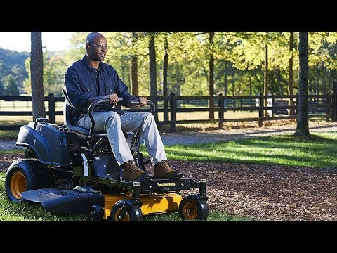 Buying the Best Electric Riding Lawn Movers and Tractors