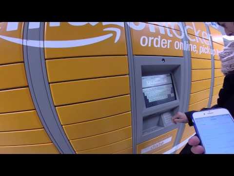 Usando un Amazon Locker