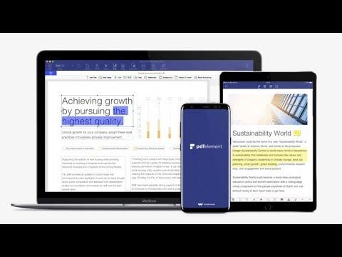PDFelement - Genial app para edita tus PDF profesionalmente y facil!