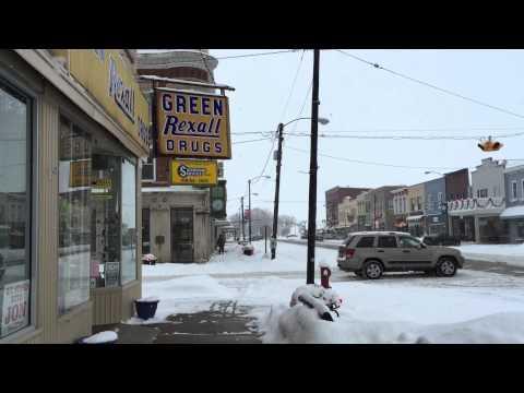 Winter in Port Clinton, Ohio