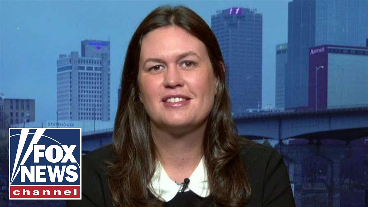 Sarah Sanders: The only thing that is going to deter Iran is strength
