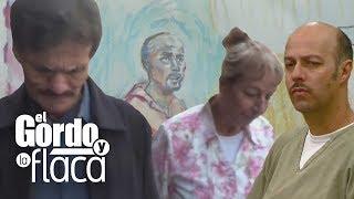 Mamá de Esteban Loaiza estalla en llanto al ver a su hijo en la Corte | GyF