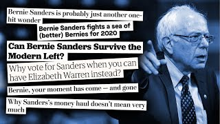 Hit Pieces on Bernie Sanders Are Somehow DUMBER This Time Around